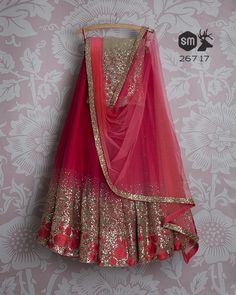 SMF LEH 267 17 I Dark berry lehenga with sequin rose daman with matching dupatta and matching sequin rose daman blouse (SOLD) Half Saree Lehenga, Lehnga Dress, Indian Lehenga, Anarkali, Asian Wedding Dress Pakistani, Indian Wedding Outfits, Indian Outfits, Indian Clothes, Designer Bridal Lehenga