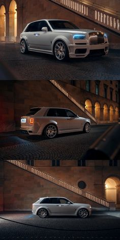 Rolls-Royce Cullinan Gets A Massive Power Boost. This tuned Rolls-Royce Cullinan has 114 more hp than the standard version. Rolls Royce Suv, Rolls Royce Models, Bentley Rolls Royce, Bmw, Audi, Fancy Cars, Retro Cars, My Dream Car, Dream Cars