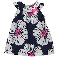 Carter's Girls Floral Printed Dress with Diaper Cover