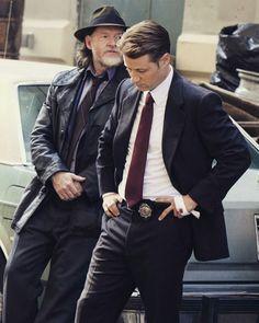 Jim Gordon Gotham, James Gordon, Suit Jacket, Fandoms, Snacks, Suits, Comics, Jackets, Fashion