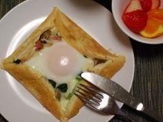 「クランペットで簡単ガレット!」こたみや | お菓子・パンのレシピや作り方【corecle*コレクル】