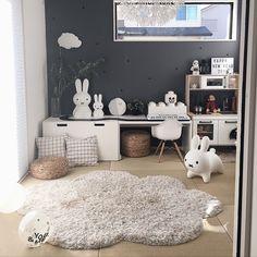 Overview/照明/IKEA/イケア/子供部屋/ミッフィー...などのインテリア実例 - 2018-02-12 18:51:35 Nursery Room, Baby Room, Room Interior Design, Kids Play Area, Toy Storage, Room Organization, Kidsroom, Kids Playing, Playroom