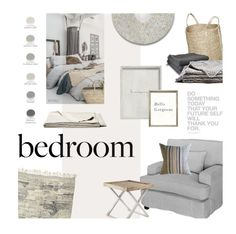 """All Seasons Bedroom"" by magdafunk ❤ liked on Polyvore featuring interior, interiors, interior design, home, home decor, interior decorating, Casablanca, The Dharma Door, Palecek and Brahms Mount"
