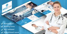 we launch new medical theme on theme forest.  click here http://themeforest.net/item/medicom-fully-responsive-medical-health-theme/6590621