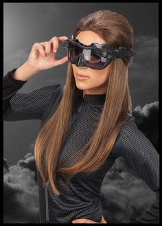 Ok these are pretty cool! there is a great DIY video on how to make these goggles. Batman the Dark Knight Rises Deluxe Catwoman Goggles Mask http://halloweenideasforwomen.com/anne-hathaway-catwoman-costume