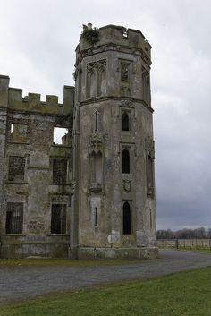 Castle Ruin Castle Ruins, Skyrim, Pisa, Notre Dame, Mount Rushmore, Tower, Mountains, Building, Nature