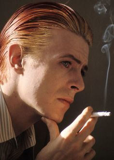 """""""I always had a repulsive sort of need to be something more than human. I felt very very puny as a human. I thought, """"Fuck that. I want to be a superman."""" David Bowie in Rolling Stone #206, 1976"""