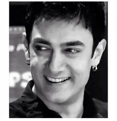 Sweet smile & Aamir Khan Korean Star, Bollywood Actors, Shahrukh Khan, Pakistani, Superstar, How To Look Better, Smile, Indian, Celebrities