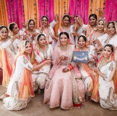 ideas dress hijab bridesmaid fat for 2019 Sequin Bridesmaid Dresses, Bridesmaid Outfit, Bridal Dresses, Indian Wedding Ceremony, Wedding Bride, Wedding Lehnga, India Wedding, Punjabi Wedding, Wedding Attire