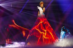 Poll results: Aliona Moon is the queen of the projection dress