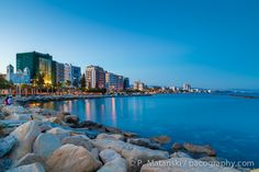 Limassol Cyprus Seafront View