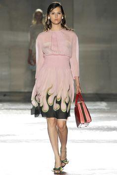 Prada Spring 2012 Ready-to-Wear Fashion Show - Anais Pouliot