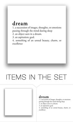 """""""Dream!"""" by for-the-art-of-fashion ❤ liked on Polyvore featuring art"""