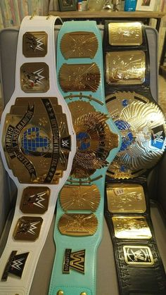 WWE Championships Wrestling Stars, Wrestling Wwe, Wwe Intercontinental Championship, Wwe Championship Belts, Wwe Sports, Lane Frost, Kane Wwe, Surf Tattoo, Wwe Belts
