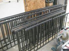 Metal Railings built DIY