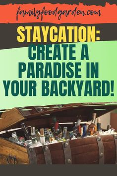 This is how to enjoy your staycation to the maximum. Family Food Garden wants to share with you some tips and tricks for creating a paradise in your own backyard. Staycations are wonderful ideas for families, and they really shake up your routine and make you feel refreshed afterward. Check out this article for more interesting information. #staycation #stayathome #stayindoors #vacationathome #homevacation #howtostaycation Healthy Fruits And Vegetables, Growing Vegetables, Build Outdoor Kitchen, Make Your Own Wine, Bbq Area, Pergola Kits, Recycled Crafts, Staycation, Family Meals
