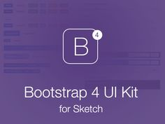 Bootstrap 4 UI Kit for Sketch - Free sketch resource for download #sketchhint #sketch #resource #app #freebie #free