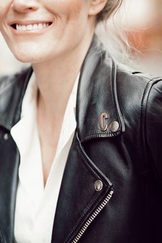 Inspiration and happiness since 2004 Camilla, Pearl Earrings, Happiness, Leather Jacket, Pearls, Jackets, Inspiration, Jewelry, Fashion