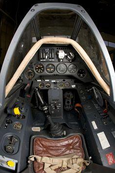 Focke Wulf 190 A3 Cockpit.