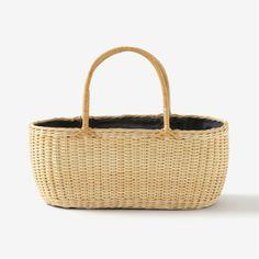 Basket bag of Toyooka willow