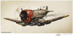 Ratbird Fighter Plane on Behance