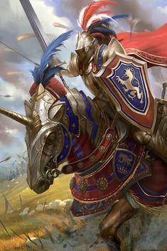 ArtStation - Royal knight, Ye Fan