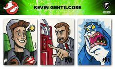 Ghostbusters trading cards sketch previews part 8 | Cryptozoic Entertainment