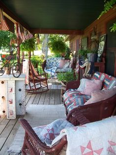 Summer porch