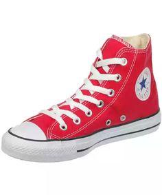 CONVERSE Tenisky, Chuck Taylor All Star Core Hi, červená - Normální délka (N)