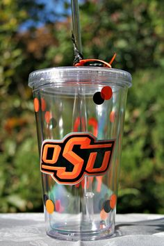 I just added this #tumbler to my Etsy shop.  It is an #OSU #Oklahoma State University.  If you have a request for a team, just message me through Pinterest or my Etsy shop.