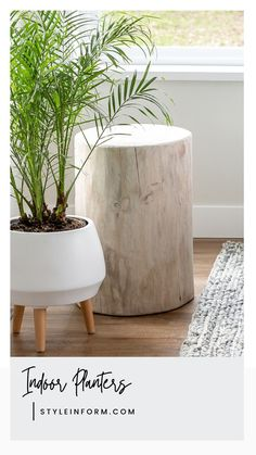 We can't get enough of these gorgeous stumps. Made from solid paulownia wood, these must-have natural accessories in whitewash are 18″high, diameter will vary. Variations in colour and composition will occur in natural wood products. No two pieces will look the same. Cracks are a natural part of this stump's charm. Whitewash stumps can be used outdoors in a covered area. Please use felt tabs to protect your rug or floors.0 left in stock. Solid Wood Furniture, Furniture Design, Natural Accessories, Teak Oil, Condo Living, Whitewash, Walnut Veneer, Nesting Tables, Furniture Inspiration