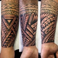 Samoan tattoos feature lots of shells. These are largely turtle shells which symbolize longevity, fertility, wellness and peace.