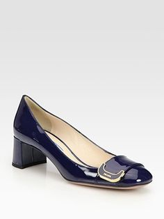 Looking for cute navy blue shoes.  These are so perfect.  The best thing about Prada shoes is that they are really comfortable.