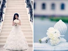 букет невесты из белых пионов wedding, bride, bouquet, Jolly Bunch