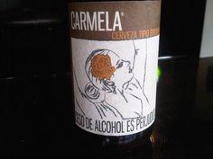 Cerveja Chelarte Carmela Brown Ale, estilo English Brown Ale, produzida por Chelarte, Colômbia. 5% ABV de álcool.