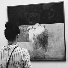 """Фото в стиле """"как любит Айгуль"""". Все как надо: красивая картина и девушка… Instagram Posts, Artwork, Painting, Artworks, Work Of Art, Auguste Rodin Artwork, Painting Art, Paintings, Painted Canvas"""