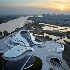 MAD's sinuous Harbin Opera House completes in north-east China