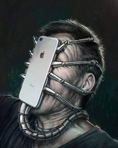 Surreal Illustrations That Depict The Horrible Truth About The Downfall Of Modern Society Social Media Art, Satirical Illustrations, Wow Art, Surreal Art, Art Plastique, Fantasy Art, Art Drawings, Street Art, Weird