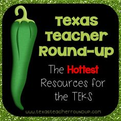 This is a great resource for all those NEW Texas TEKS!