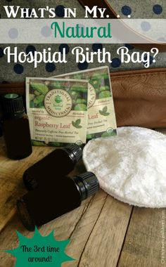 What's in my Natural Hospital Birth Bag??