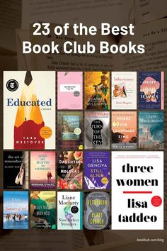Whether you're looking for a suspenseful thriller, a riveting romance, or an awe-inspiring memoir, our readers have selected the best book club books that will satisfy every group of book lovers! #books #bookclub #bookclubbooks
