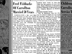Mr. and Mrs. Fred Fishback ... 14 Jun 1953