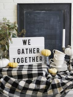 Thanksgiving decor Heidi Swapp Lightbox inspiration by Jamie Pate for Thanksgiving Decorations, Happy Thanksgiving, Christmas Decorations, Marquee Sign, Marquee Lights, Cinema Light Box Quotes, Light Up Box, Home Security Tips, Boxing Quotes