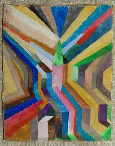 Paul Klee, Church and Steeple, 1917.