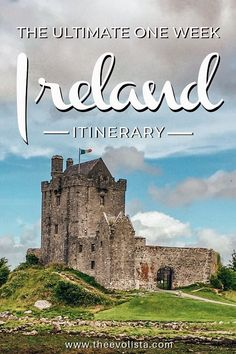 7 Days In Ireland Itinerary - THE EVOLISTA Ireland travel best spots must see places and travel tips in a 7 day Ireland itinerary. See Dublin Galway Cliffs of Moher Northern Ireland and more. babies flight hotel restaurant destinations ideas tips Ireland Travel Guide, Europe Travel Guide, Travel Guides, Travel Checklist, Travelling Tips, Travel Info, Travel Essentials, Oregon, Places To Travel