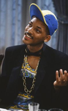 The Fresh Prince of Bel-Air debuted 25 years ago, Sept. on NBC, and we& celebrating by looking back on some of Will Smith& craziest and most colorful get-ups he wore over the course of the sitcom& six-year run! Will, master of mixing prints since Fresh Prince, The Smiths, Willian Smith, Prinz Von Bel Air, Arte Do Hip Hop, Ps Wallpaper, Estilo Hip Hop, 90s Hip Hop, My Vibe
