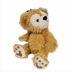 DUFFY the Disney Bear Wrist Bag Purse Plush Toy Tan Hidden Mickey #Disney Duffy The Disney Bear, Hidden Mickey, Plush Animals, Zipper Pouch, Walt Disney, Purses And Bags, Teddy Bear, Toys, Ebay