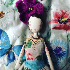 Miss Blossom #sammckechniedolls #sammckechnie #dollmaker #themagpieandthewardrobe #magpieandthewardrobe