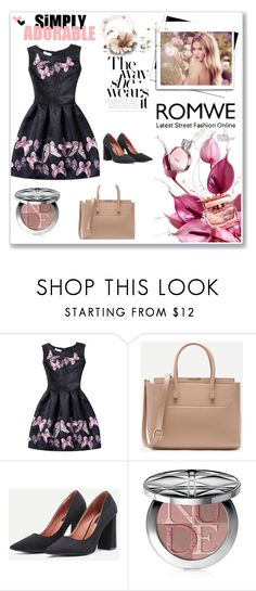 """""""Romwe 3"""" by amra-f ❤ liked on Polyvore featuring Whiteley, Christian Dior and romwe"""