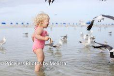 Beach seagulls toddler photos Beach photos pricelessphotosbymelissa on facebook
